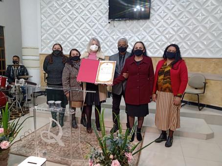 IEADC Jardim São Carlos recebe homenagem pelos seus 50 anos