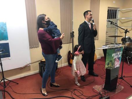 Novo presidente na Primeira Igreja Batista no Umbará