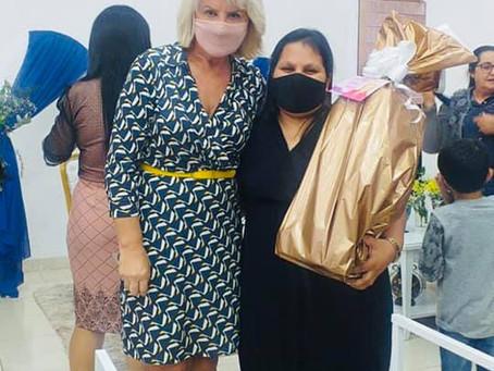 Reunião com as mulheres da Uemadepar da CIEADEP