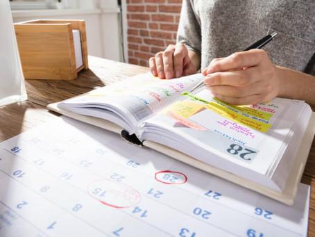5 dicas de como organizar a rotina de trabalho