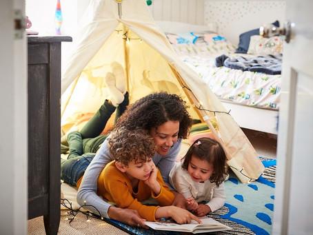 Por que é saudável ler para crianças?