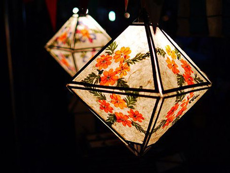 7 luminárias do Pinterest para fazer em casa no próximo feriado!