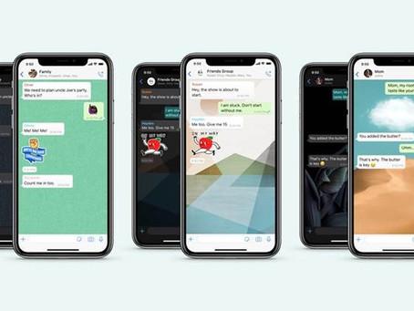 WhatsApp aprimora busca de figurinhas e permite usar papéis de parede diferentes para cada contato
