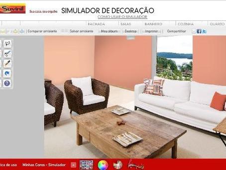 Simulador de Decoração: Decore sua casa sem sair de casa