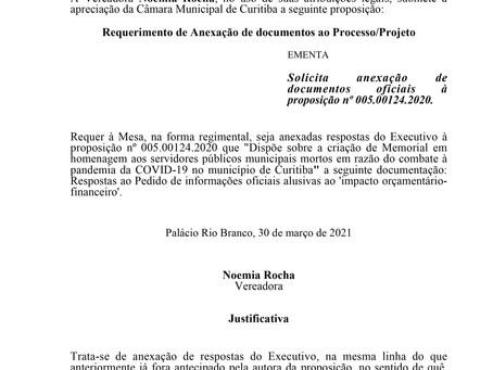 Anexação de documentos oficiais