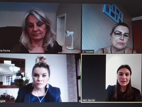 Vereadora se reúne com representantes da LIDE Paraná