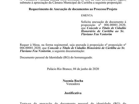 Anexação de documento à proposição nº 006.00001.2020