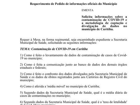 Contaminação de COVID-19 e a metodologia de captação e divulgação de dados