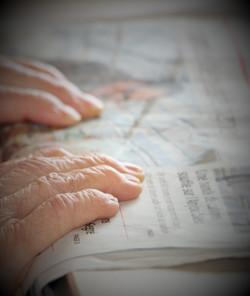 La lecture du journal