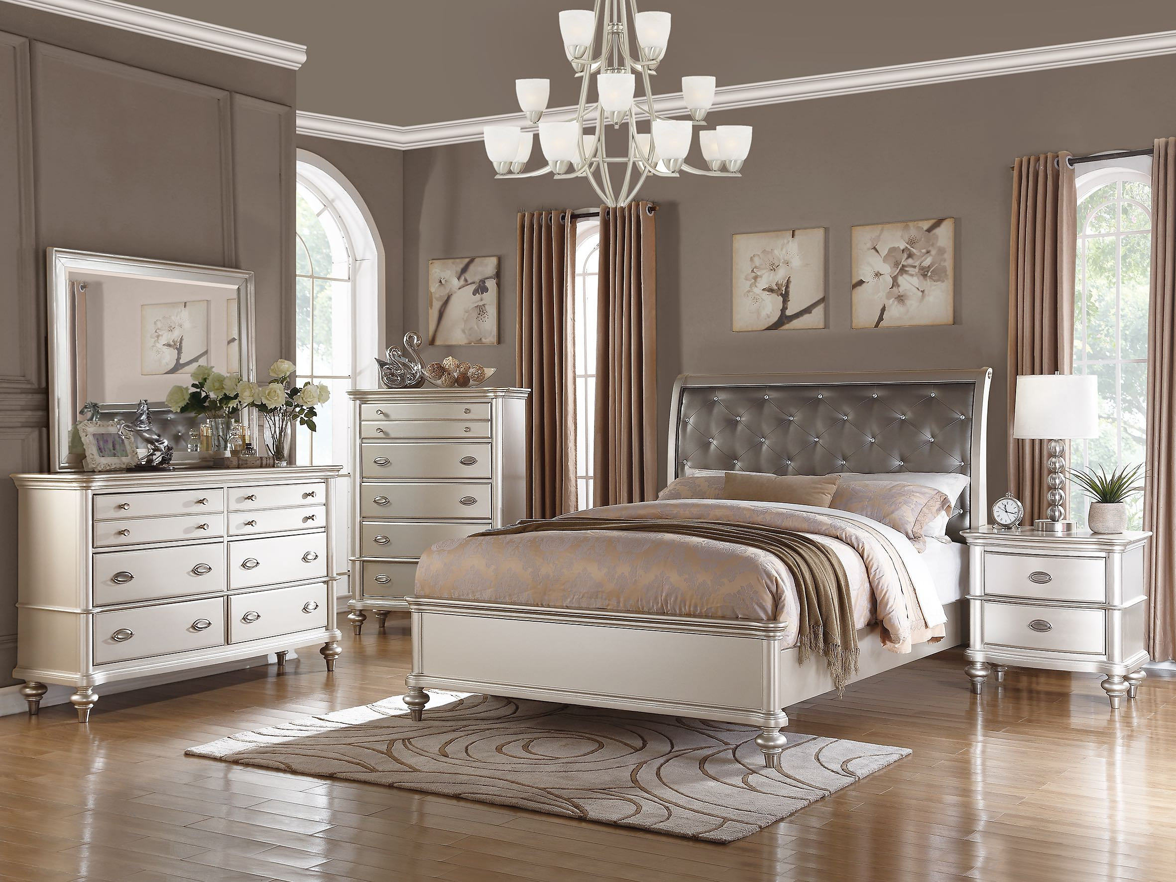 Antique Silver Queen Bed. Amavi Designs   Quality Furniture at Amazing Prices   Antique
