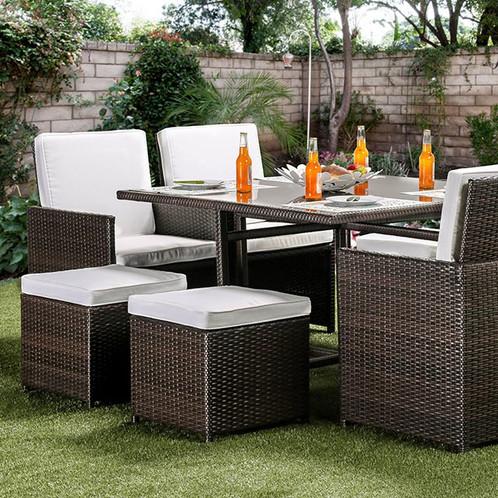 Keisha 9 Piece Patio Dining Set | Amavi Designs | Quality Furniture At  Amazing Prices