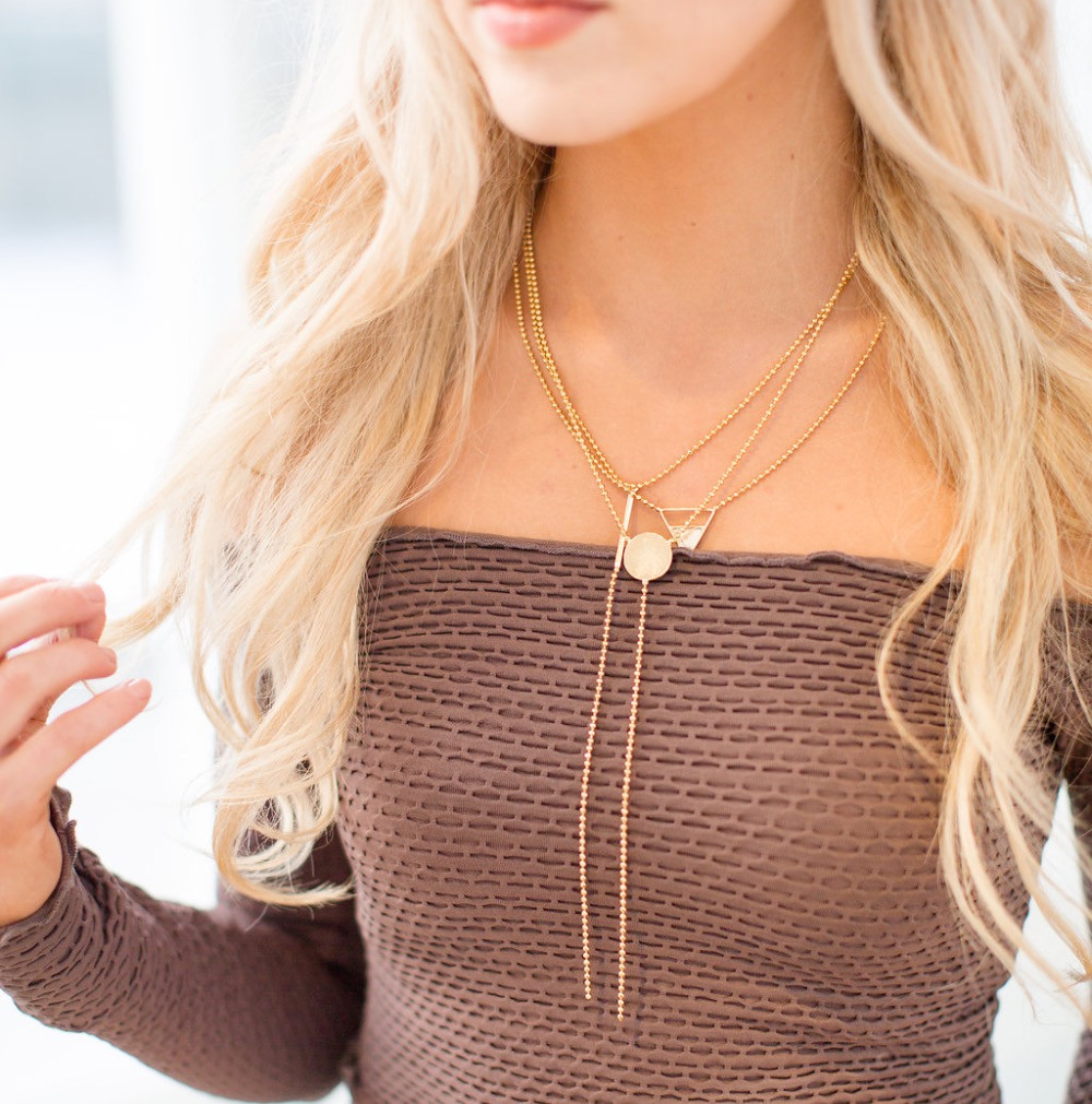 Gold Necklace Layering Combinations