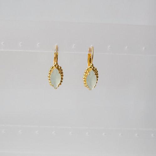 Raye Earrings in Soft Mint