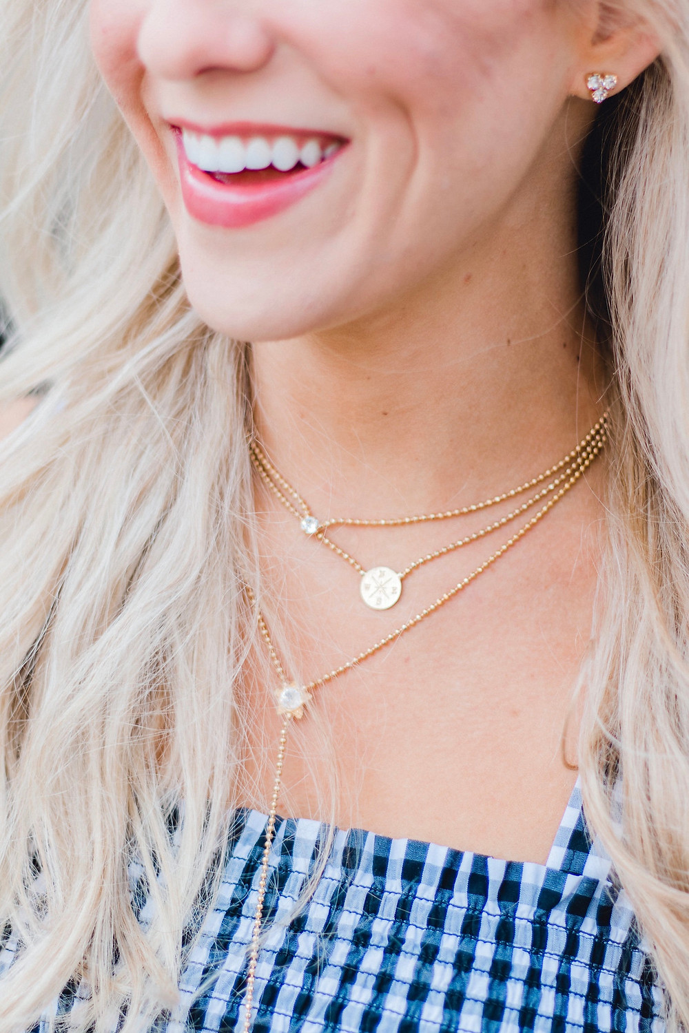 Gold Delicate Necklace Layering