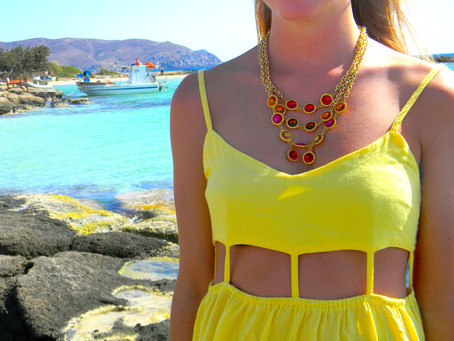 Pink, Yellow and Greece