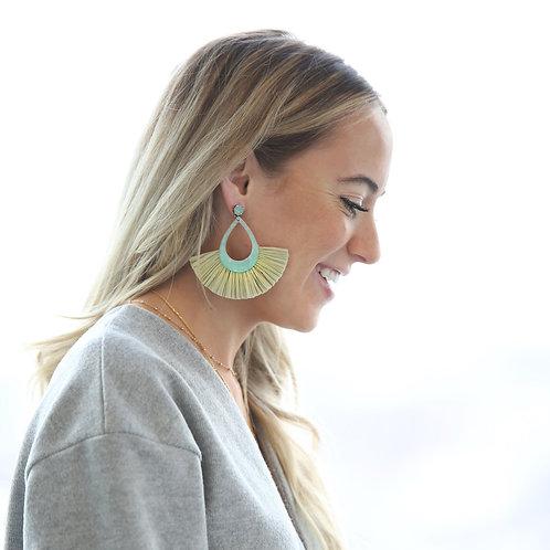 Pacifico Earrings Teal