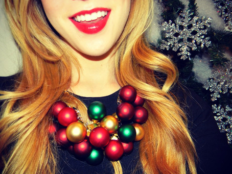 DIY Necklace using Ornaments