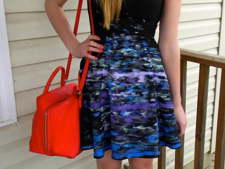 Brighten a Little Black Dress