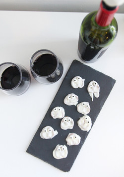 Ghost Chocolate Covered Pretzels