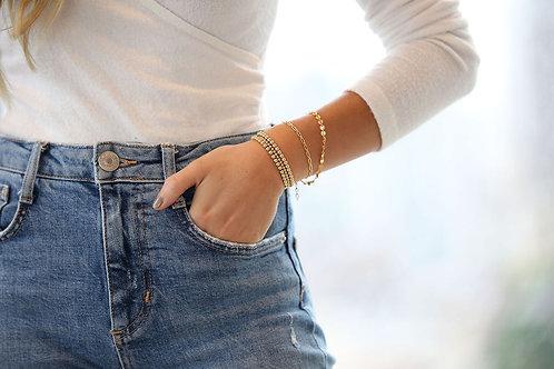 Bianca Gold Filled Bracelet 4mm
