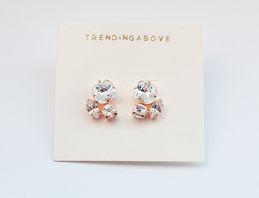 Baby Cluster Earrings
