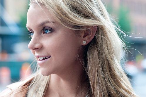 Magie Earrings in Cream