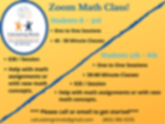 Zoom Classes online math learning and tutoring knoxville