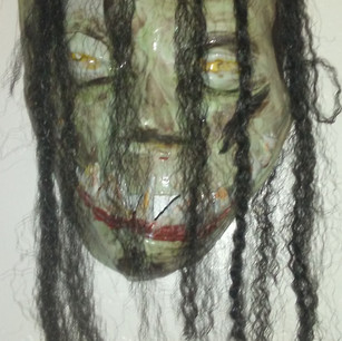 Yokai No. 3, Excerpt from Face Mask series