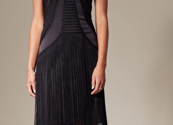 Millen Black Shingle Dress