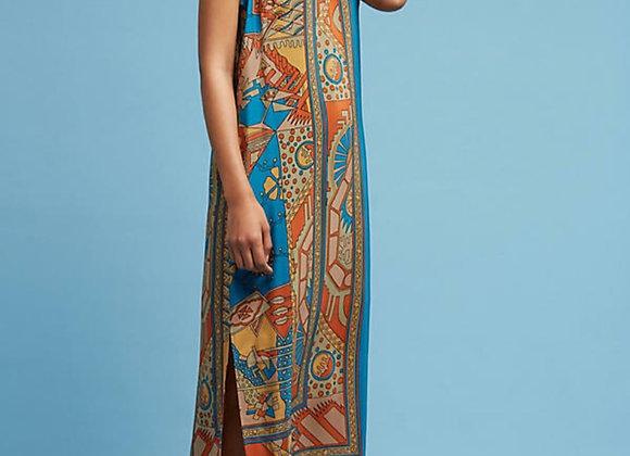 Akemi + Kin Tribal Silk dress