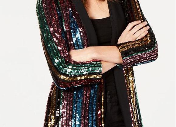 Sequin Rainbow Blazer