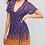 Thumbnail: Printed Leopard wrap dress