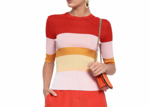 Emilio Pucci woman's color-block knit