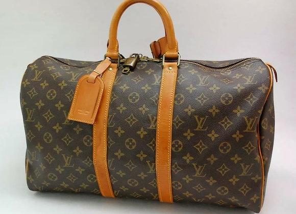 Vintage Louis Vintage Keepall Luggage