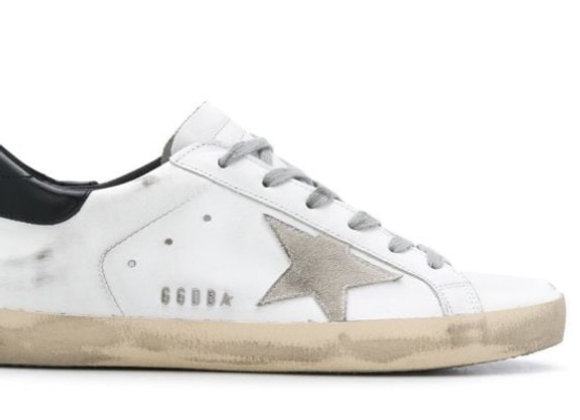 "Golden Goose ""Super-Star""  men's low top sneaker"