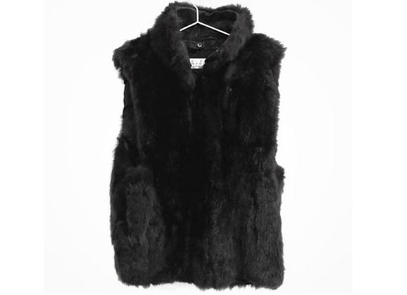 Vintage Andrew Marc Fur Vest