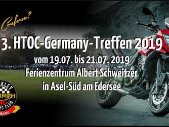 3. HTOC-Germany Treffen 2019  vom 19. - 21.7.2019