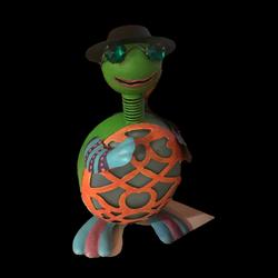 Turtle Tuned Tom