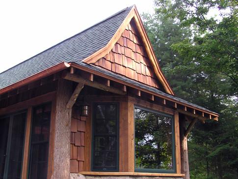 Adirondack home rustic shingles