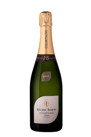Photographie bouteille de champagne