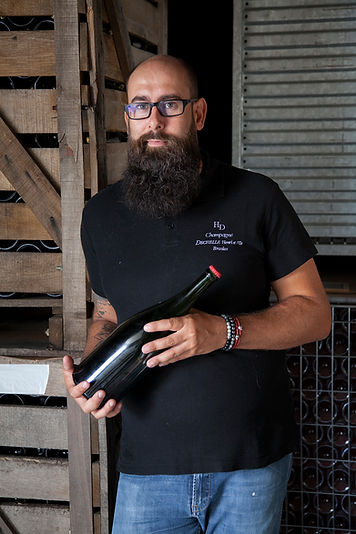 Photographie vigneron champagne