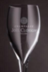 Photographie coupe de champagne