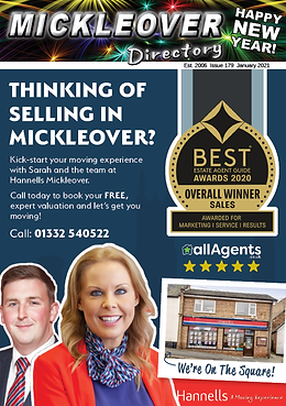 Front Cover Mickleover Directory January