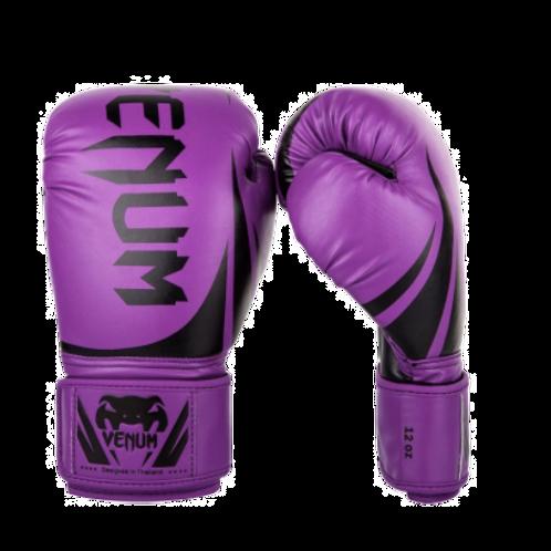 Перчатки боксерские Venum Challenger 2.0 Purple/Black