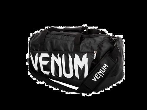 Venum Sparring Sport Bag  Black/White