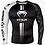 Thumbnail: RUSH GUARD Venum Logos –Black/white
