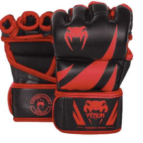 ПЕРЧАТКИ MMA VENUM CHALLENGER - BLACK/RED