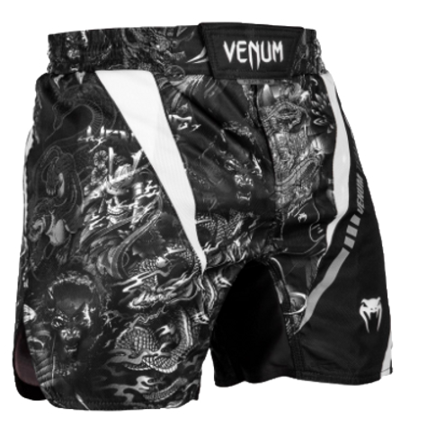 Шорты MMA Venum Art Fightshort  Black/White