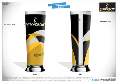 Strongbow Glass