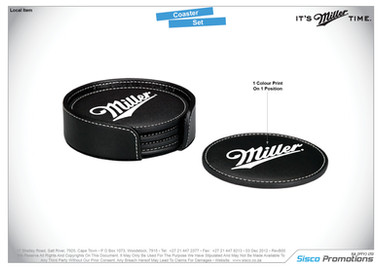 Miller - Coaster Set